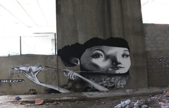 New Ethos Mural in Sao Paulo and Bogota