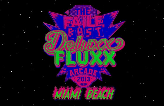 "FAILE x Bast ""Deluxx Fluxx Arcade 2013 Miami Beach"" Presented by Perrier"