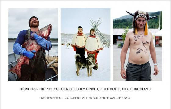 Reminder: FRONTIERS The Photography of Corey Arnold, Peter Beste, and Céline Clanet @ Bold Hype