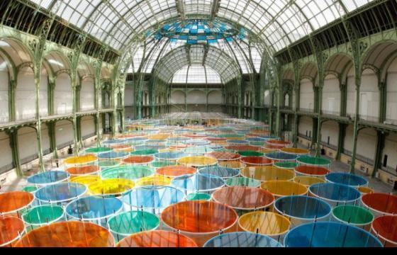 Monumenta project by Daniel Buren