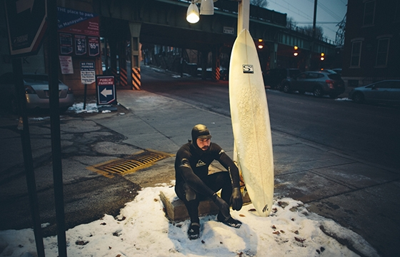 "Chris Sembrot's ""Urban Surfers"""