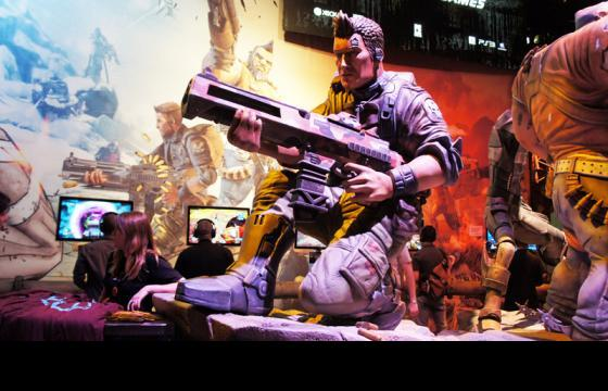 Juxtapoz @ E3 2012: Borderlands 2 can make you an army of one