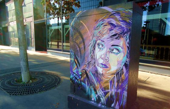 New Work From C215