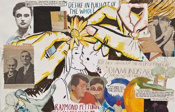 RAYMOND PETTIBON: Desire in Pursuyt of the Whole @ Regen Projects, Los Angeles