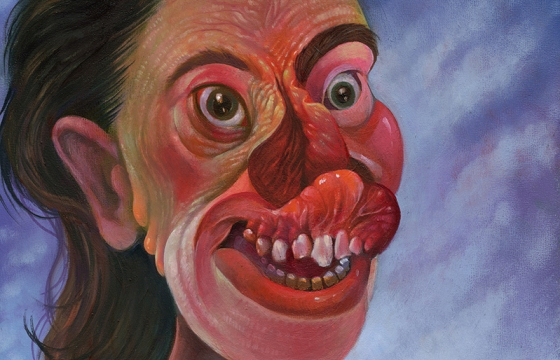 Gregory Jacobsen's Visions of Grotesquerie