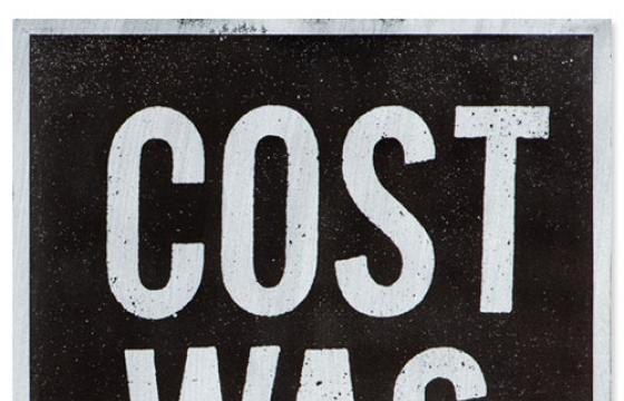 """Cost Was Here"" Print"