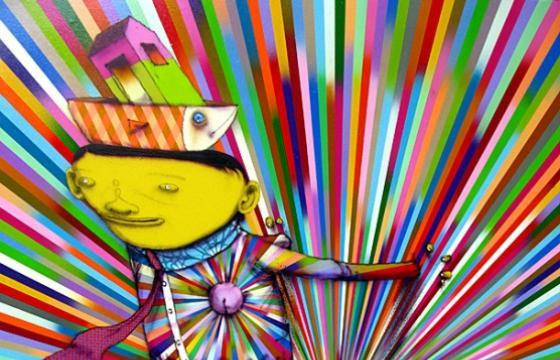Os Gemeos in group show at Lehmann Maupin in NYC