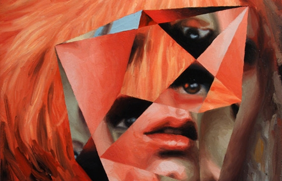 Jeremy Olson's Geometric Paintings