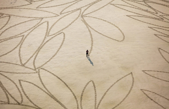 Sand Art by Jim Denevan