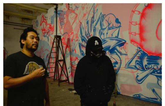 TIMELAPSE : DAVID CHOE AND DVS 1 FOR NUART