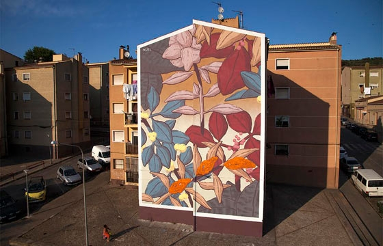 New Wall by Pastel in Spain for the Milestone Project