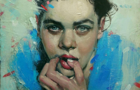 Sensuous, Tactile Oil Paintings by Malcolm Liepke