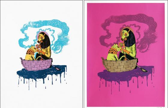 New Prints from Saner with Pictures On Walls