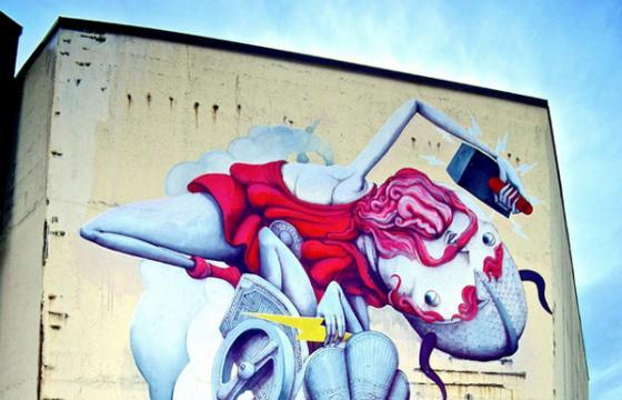 Another Mural from ZED1 in Norway