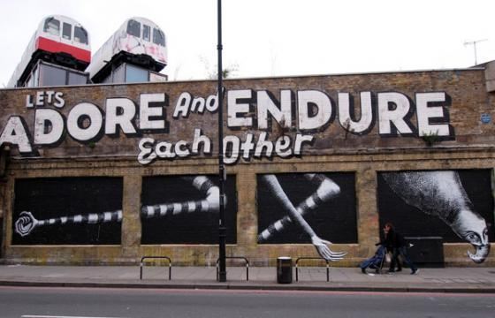 New work from Phlegm around London