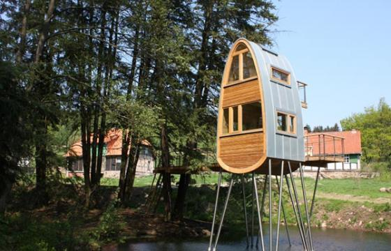 In Street Art: Treehouses for Adults