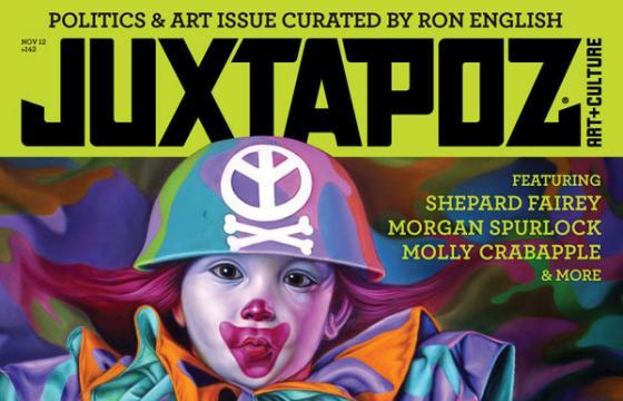 Issue Preview: November 2012 Art & Politics curated by Ron English