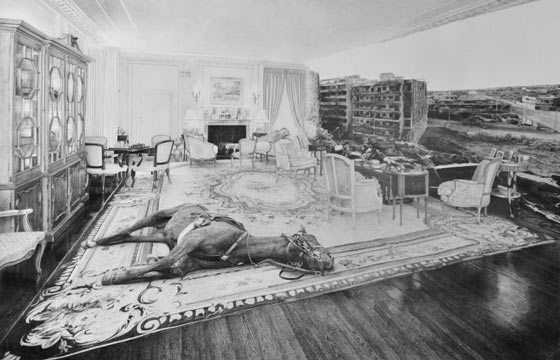 Jean Bedez's Graphite Drawings