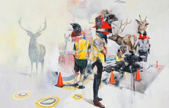 Joram Roukes @ Masters Projects, Brooklyn, NYC