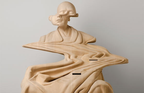 Wooden Sculptures by Paul Kaptein