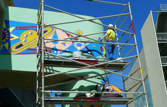 Jovi Schnell Paints San Francisco's New Skate Park