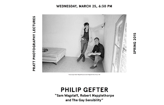PRATT PHOTOGRAPHY LECTURES - Philip Gefter