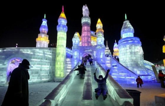 LED Ice Slides in China