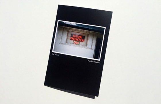 "Dan Monick's ""Psychic Windows"" published by Deadbeat Club"