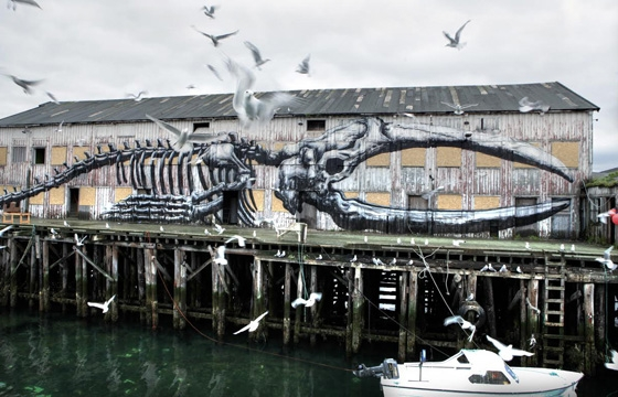 "ROA ""Projectum 06"" @ Stolenspace, London"