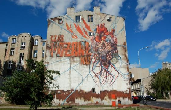 Anatomical Heart Mural by Lump