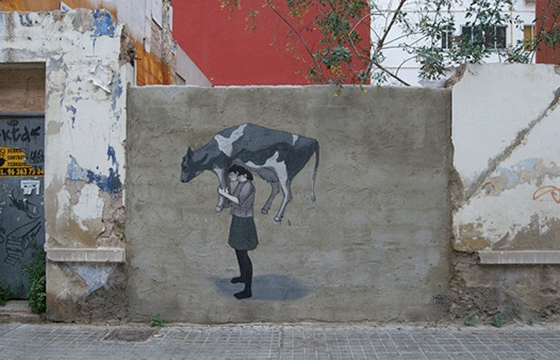New piece by Hyuro in Valencia, Spain