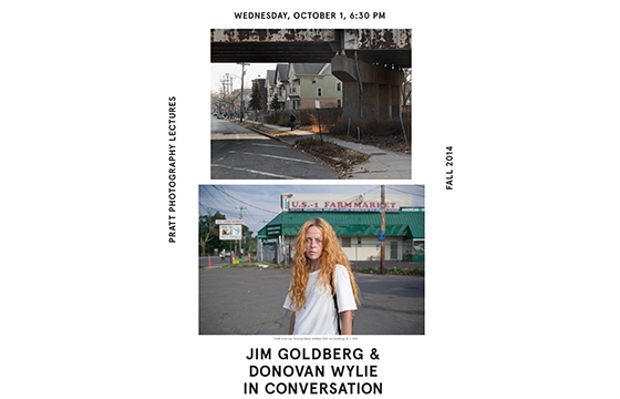 PRATT PHOTOGRAPHY LECTURES - Jim Goldberg and Donovan Wylie