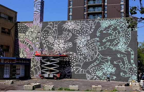 New Curiot Mural in Montreal