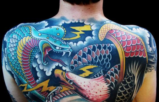 Homeward Battle Back-Piece