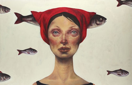 Paintings by Iranian Artist Afarin Sajedi