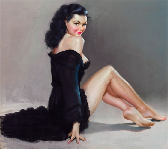 Pinup In Black
