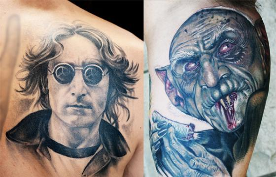 Portrait Contest from Tattoo Road Trip