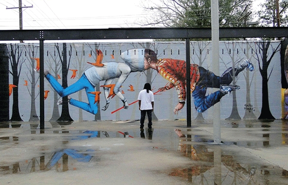 Seth Globepainter x Fintan Magee in Baton Rouge, Louisiana