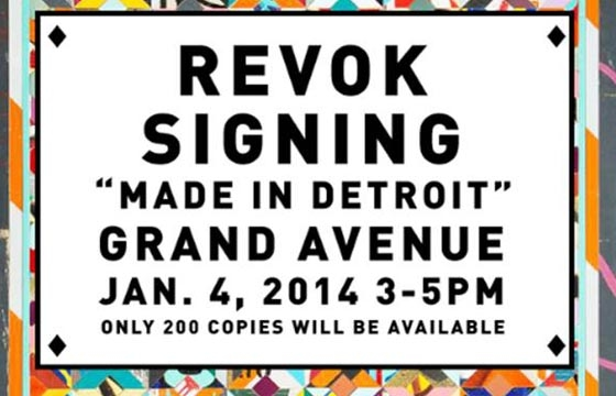 REVOK: Book Signing @ MOCA, January 4, 2014
