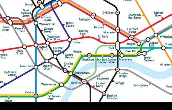 Mark Noad Reimagines the Fabled London Underground Map
