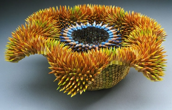 Jennifer Maestre's Pencil Sculptures