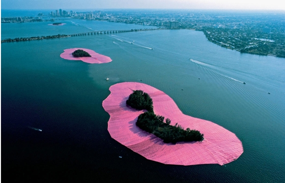 The Environmental art of Christo and Jeanne claude