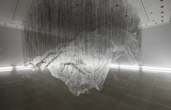 "Yasuaki Oishi's Negative Space ""Reverse of Volume RG"" Installations"
