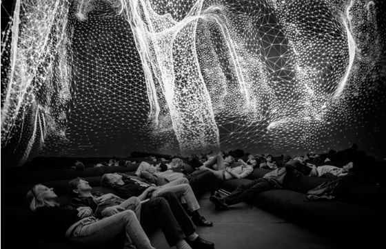 Immersive 360° Installation of Virtual Universe
