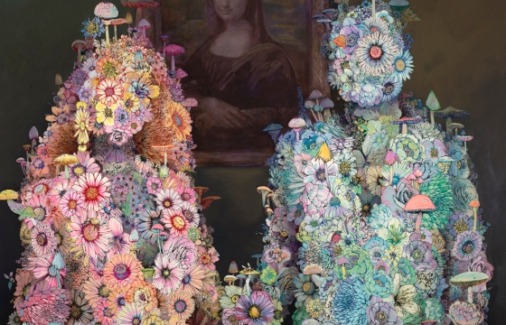 "Juxtapoz Magazine - Paganism, Survival, Effigy, Fecund Beauty: Sage Vaughn Finds His ""Second Nature"" @ Chandran Gallery"