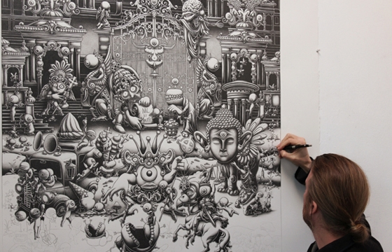 Graphite Drawings by Joe Fenton
