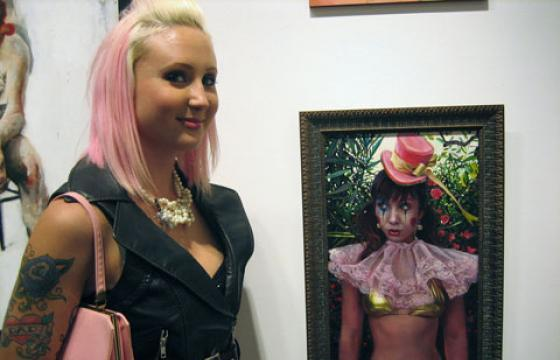 "Photos: ""CLOWNS!"" at Corey Helford Gallery"