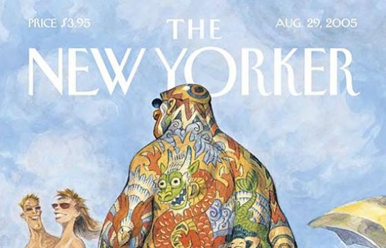 The New Yorker: Classic Tattooed Cover