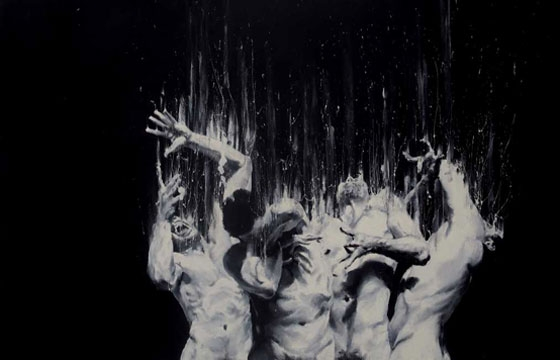 Paolo Troilo's Finger Paintings