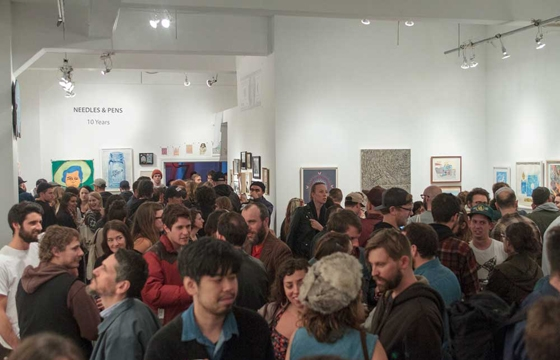 Gallery View: Needles & Pens 10 Year Anniversary Show